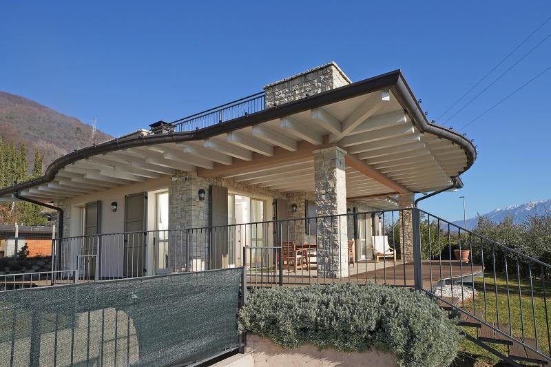 Villa mit Seeblick in Gargnano